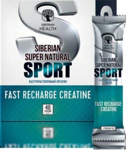 Siberian Health Super Natural Sport Fast Recharge Creatine